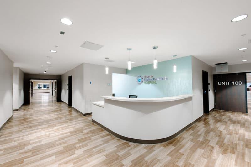 Phoenix Medical Psychiatric Hospital Desk