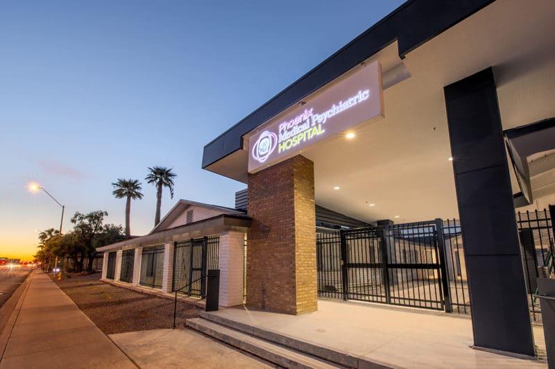 Phoenix Medical Psychiatric Hospital Exterior