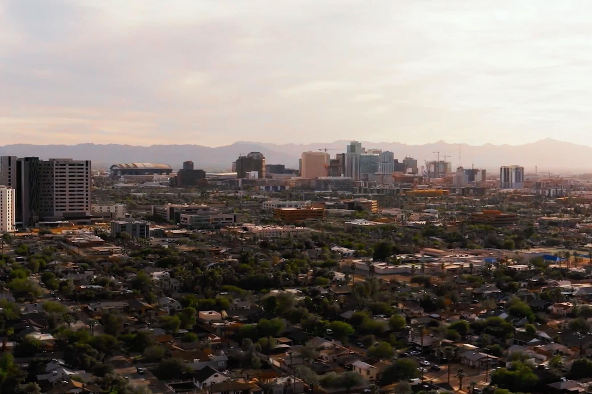 city of Phoenix downtown
