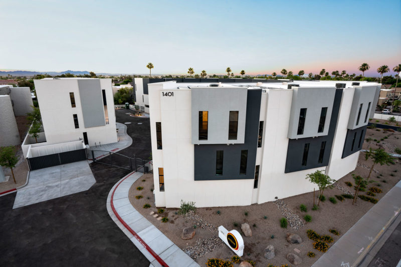 Eclipse Townhomes Aerial