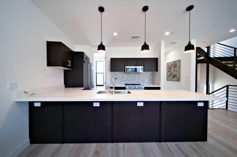 Eclipse Townhomes Interior Kitchen